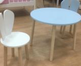 комплект детский стол и стул зайка